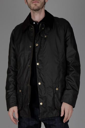 Barbour Ashby Waxed Jacket (Olive)