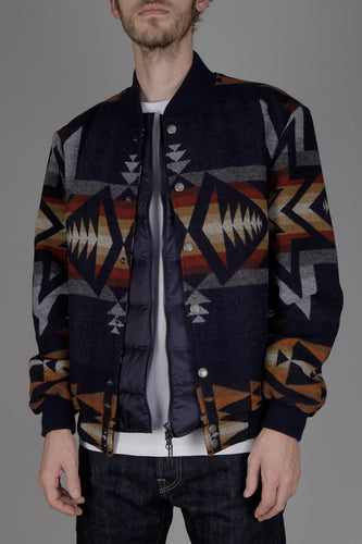 Pendleton Gorge Jacket Plains Star (Dark Navy Mix)