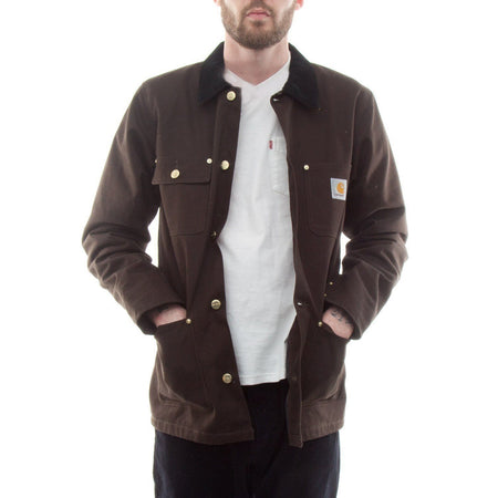 Carhartt Michigan Chore Coat (Tobacco)1