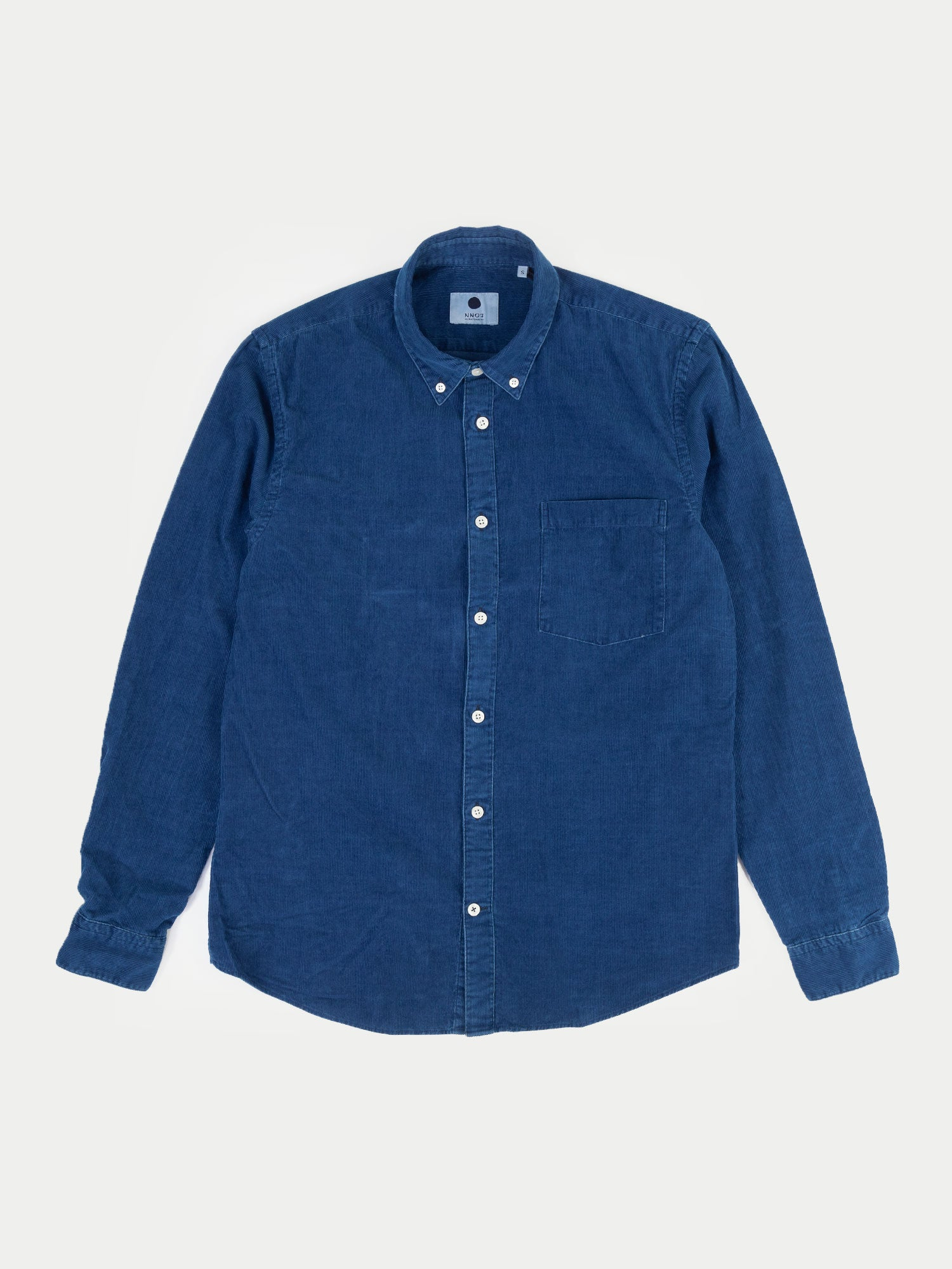 NN07 Falk Shirt (Medium Indigo)