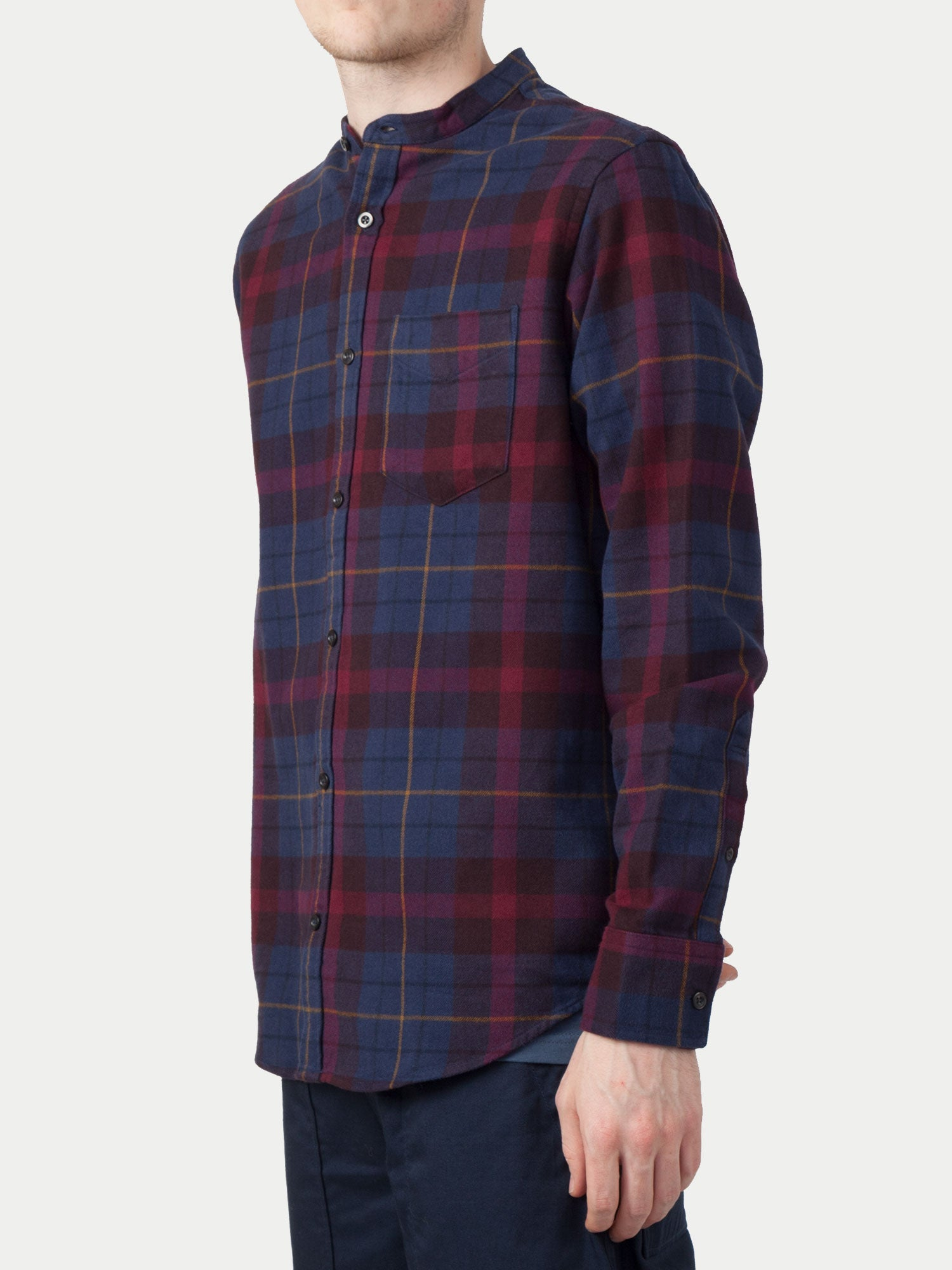 NN07 Justin Shirt (Multi Check) 1