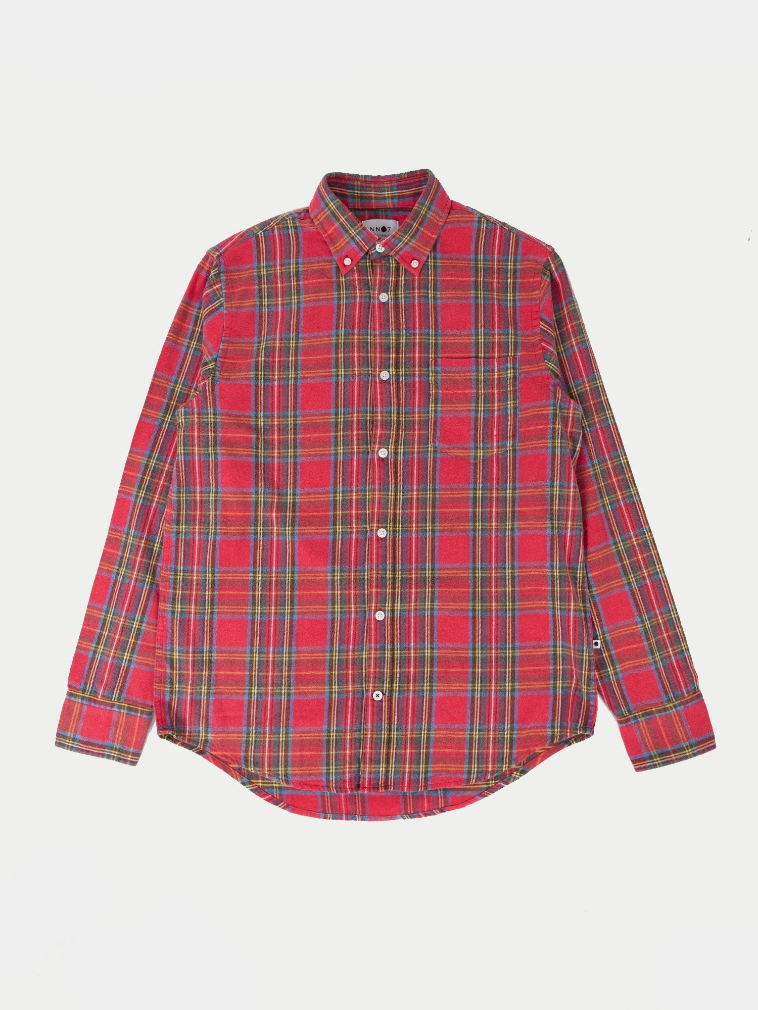 NN07 Woody Shirt (Red Check) 1