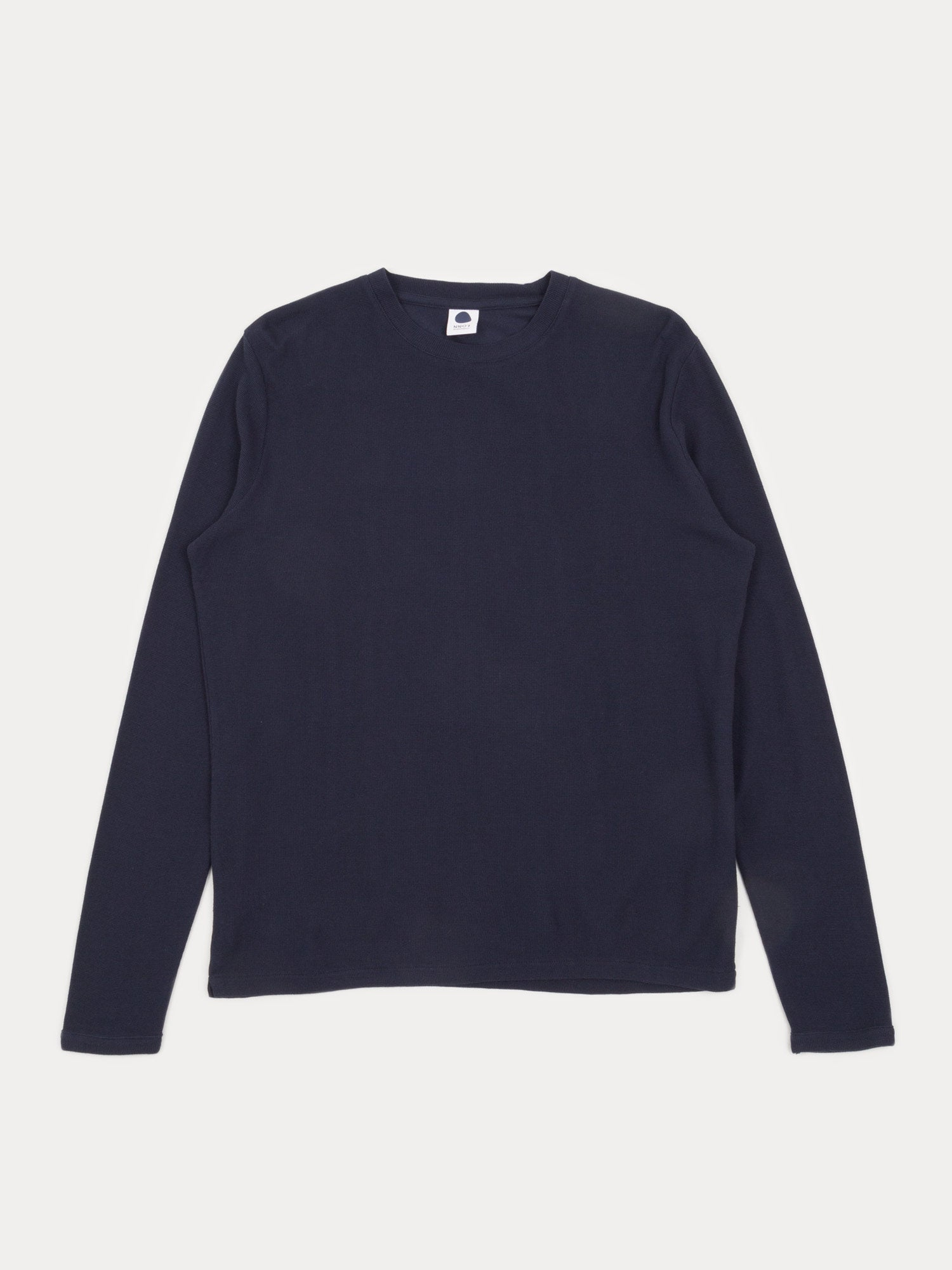 NN07 Clive Long Sleeve T-Shirt (Navy Blue)
