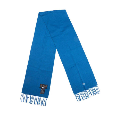 Barbour Plain Lambswool Scarf (Teal)