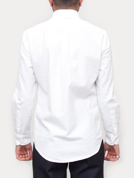 Portuguese Flannel Atlantico Shirt (White)