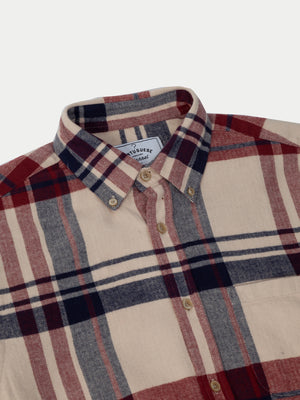 Portuguese Flannel Coachella Shirt (Red & Blue) 2