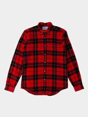 Portuguese Flannel Colorado Shirt (Red) 1