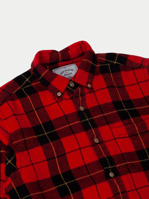 Portuguese Flannel Colorado Shirt (Red) 2