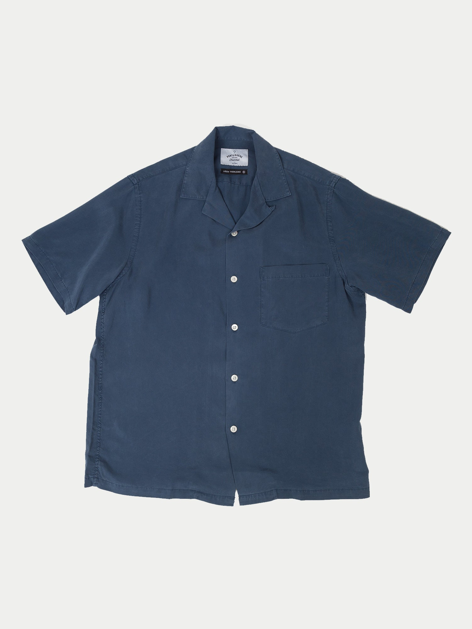 Portuguese Flannel Dogtown S/S Shirt (Blue)