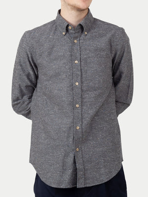 Portuguese Flannel Gross Shirt (Grey) 1