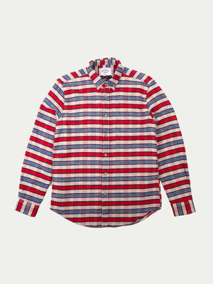 Portuguese Flannel Jersey Shirt (Red)