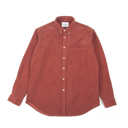 Portuguese Flannel Lobo Shirt (Bordeaux) 2