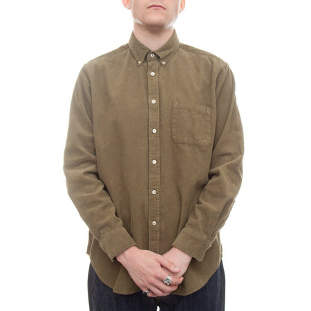 Portuguese Flannel Lobo Shirt (Green) 1