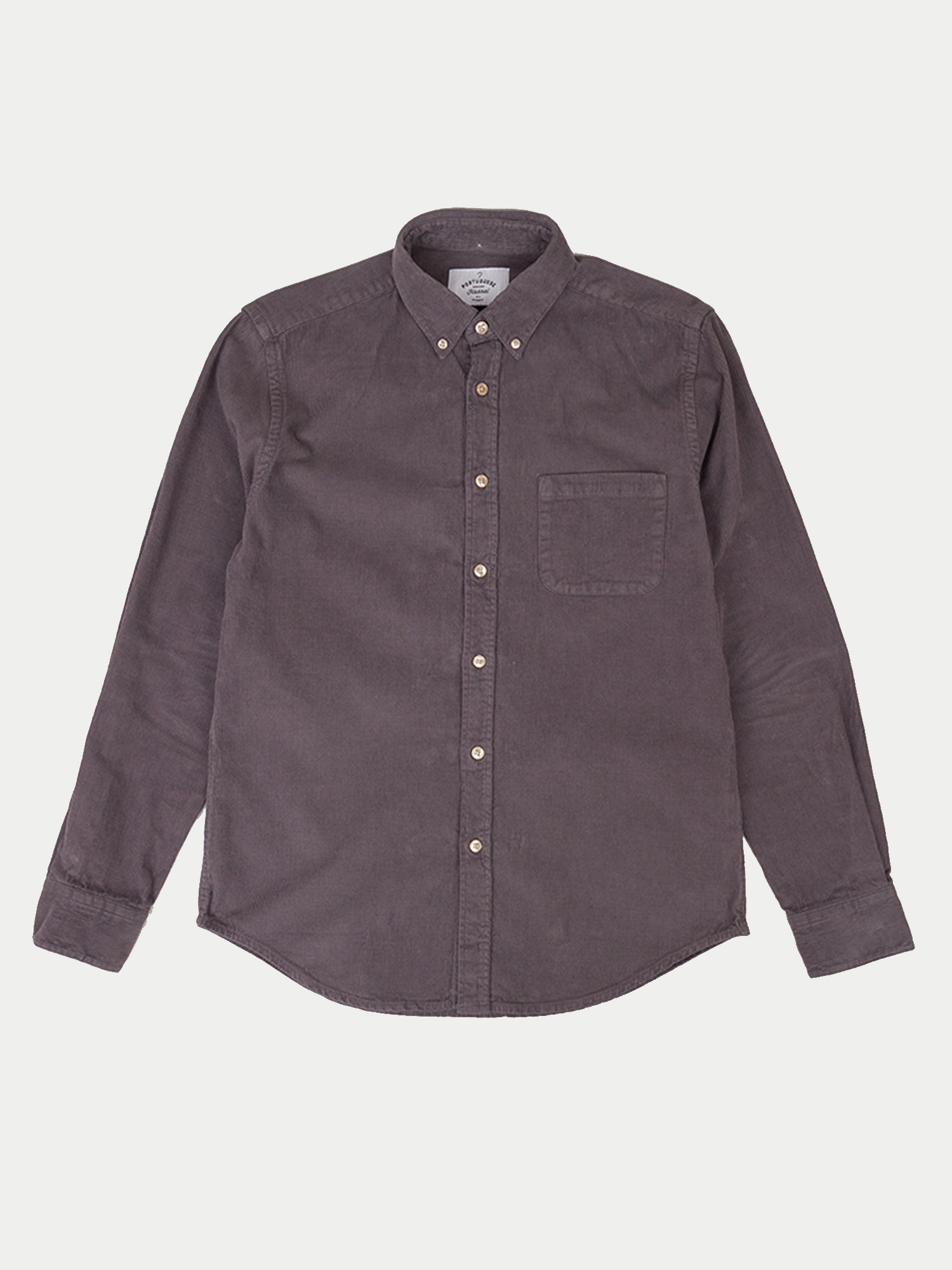 Portuguese Flannel Lobo Shirt (Grey)