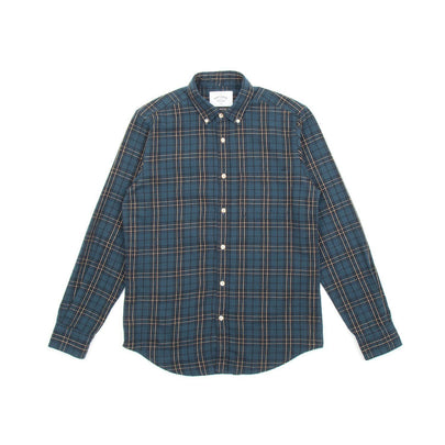 Portuguese Flannel Lusitania Shirt (Black, Green & Yellow) 2
