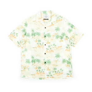 Portuguese Flannel Polinesia Shirt (Floral Print)-1