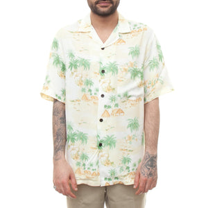 Portuguese Flannel Polinesia Shirt (Floral Print)-5