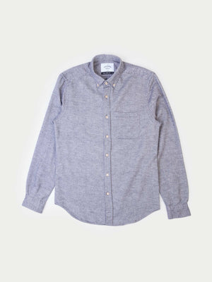 Portuguese Flannel Teca Shirt (Light Grey Heather)