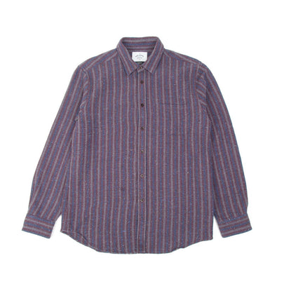 Portuguese Flannel Tica Shirt (Bordeaux) 2