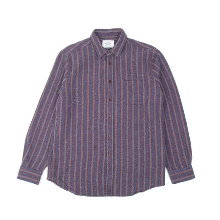 Portuguese Flannel Tica Shirt (Bordeaux)