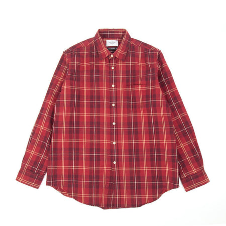 Portuguese Flannel Tinto Shirt (Red & White)