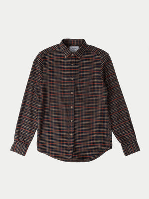 Portuguese Flannel Twill Shirt (Blue) 1