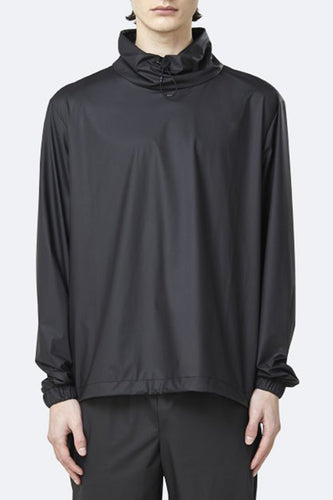 Rains Ultralight Pullover (Black) Front