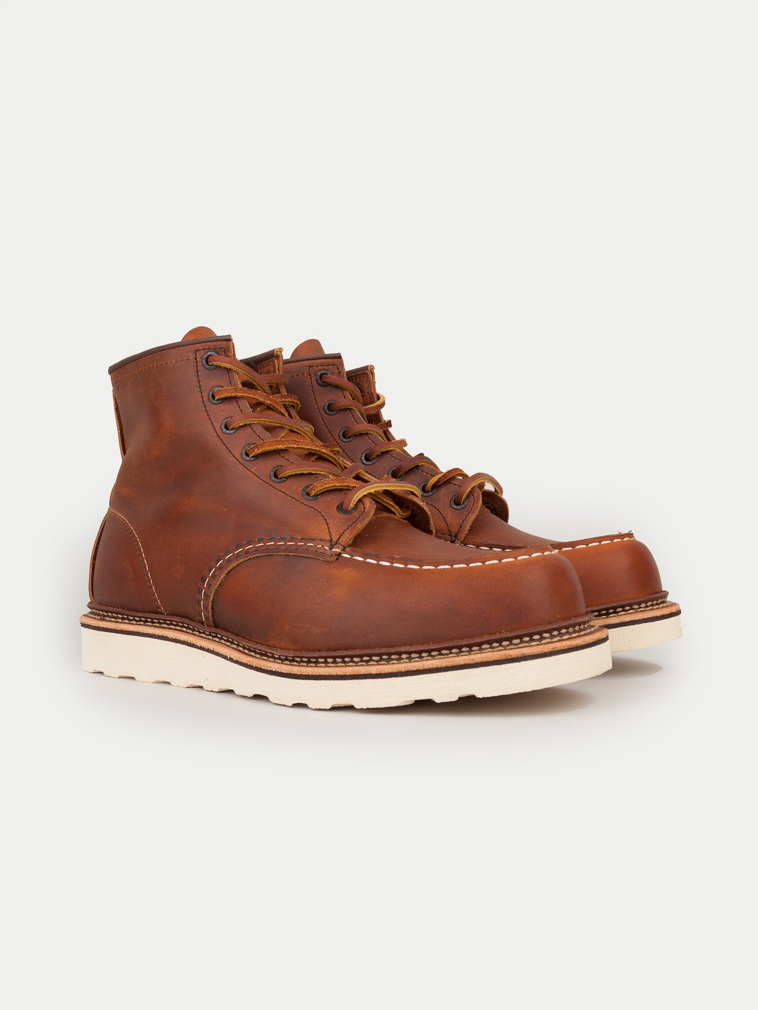Red Wing 6 Inch Classic Moc Boots (Copper)