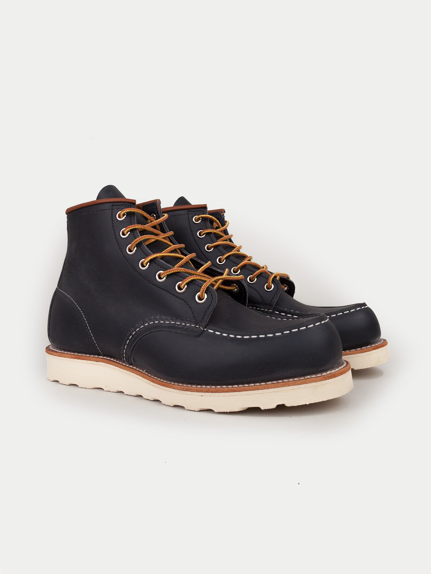 Red Wing 6 Inch Classic Moc Boots (Navy)