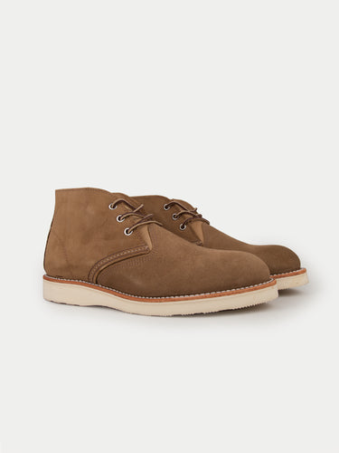 Red Wing Work Chukka Boots (Olive Mohave)
