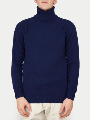 SIXES Delaney Geelong Roll Neck (American Navy)