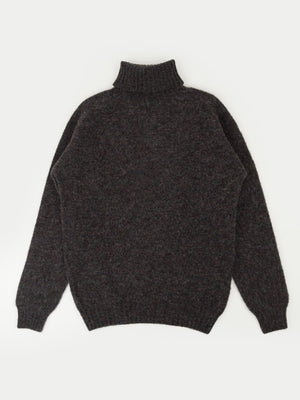 SIXES Delaney Roll Neck (Concrete)