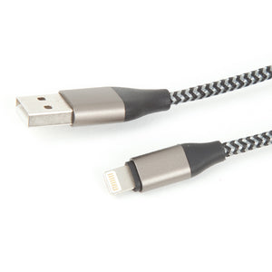 SIXES Long Lightning Cable (Grey)-2