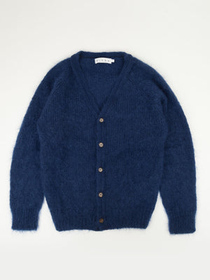 SIXES Mohair Thurbin Cardigan (Navy)