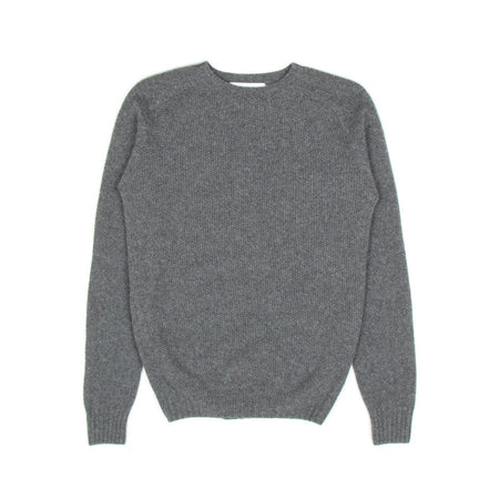 SIXES Moss Stitch Geelong Knit (Derby Grey)1