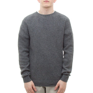 SIXES Moss Stitch Geelong Knit (Derby Grey)