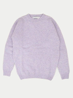 SIXES Thurbin Triple Brushed Crew (Heather)