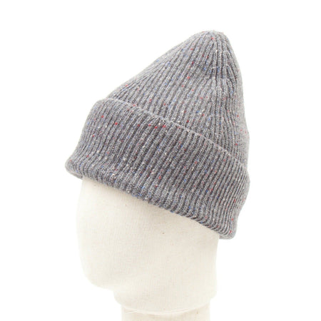 SIXES Wool Donegal Beanie (Grey Fleck)