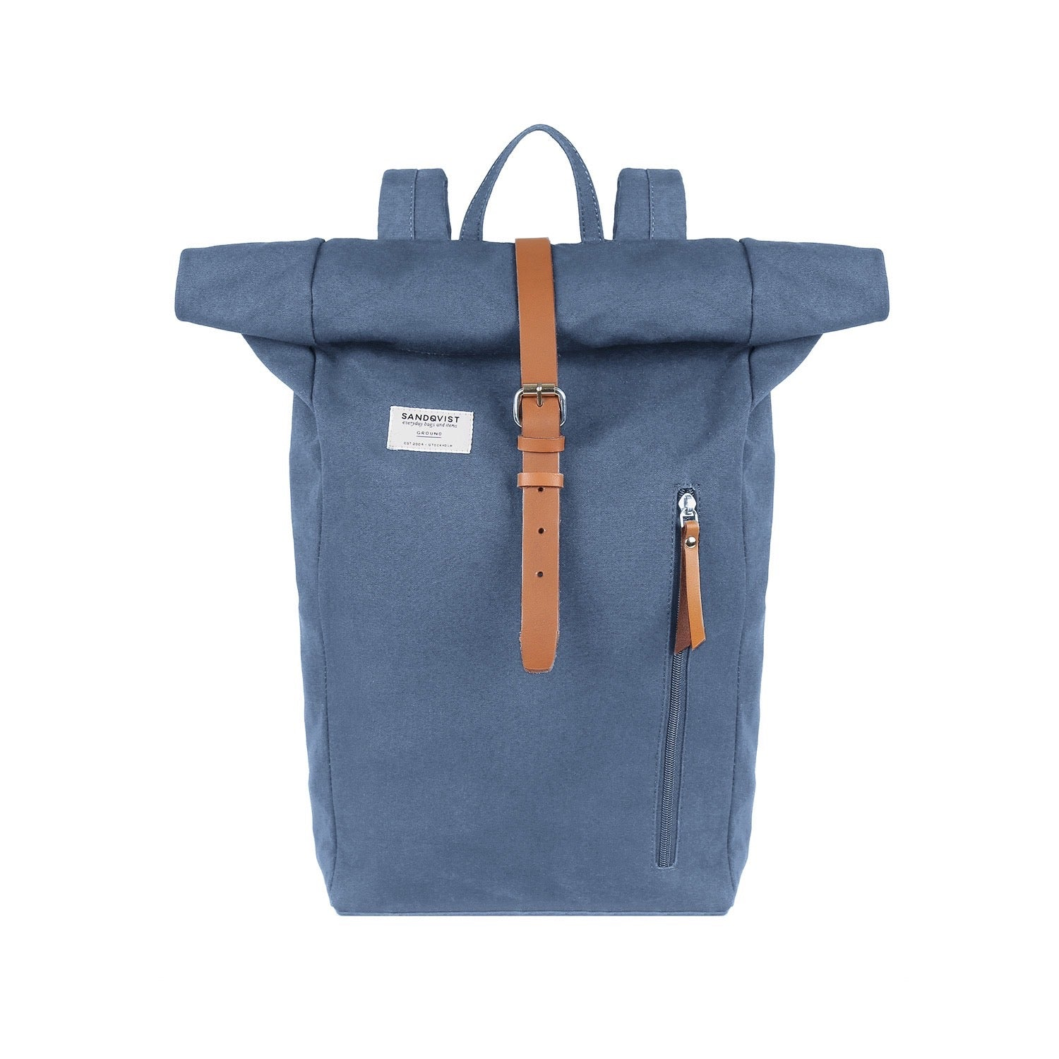 Sandqvist Dante Backpack (Dusty Blue)-1