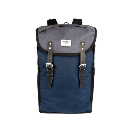 Sandqvist Hans Backpack (Multi, Black, Blue & Grey)