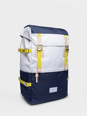 Sandqvist Harald Backpack (Off White & Blue) 2
