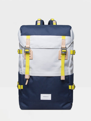 Sandqvist Harald Backpack (Off White & Blue) 1