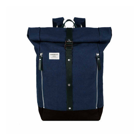 Sandqvist Rolf Backpack (Waxed Blue)