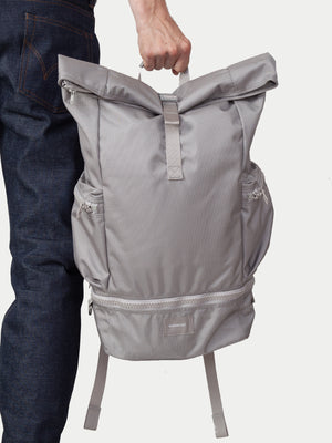 Sandqvist Verner Rolltop Backpack (Light Grey) m1