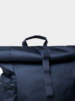 Sandqvist Verner Rolltop Backpack (Navy) 2