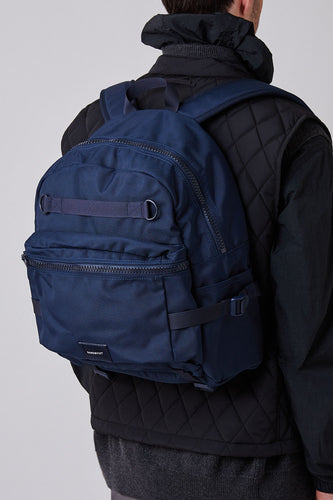 Sandqvist Elton Backpack (Navy) Model