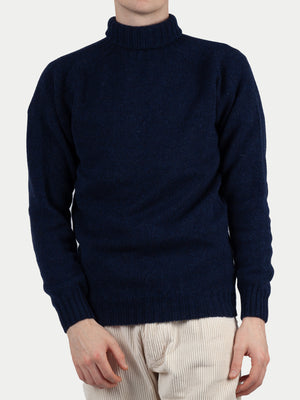 SIXES Delaney Roll Neck Jumper (Cosmos Navy) 1