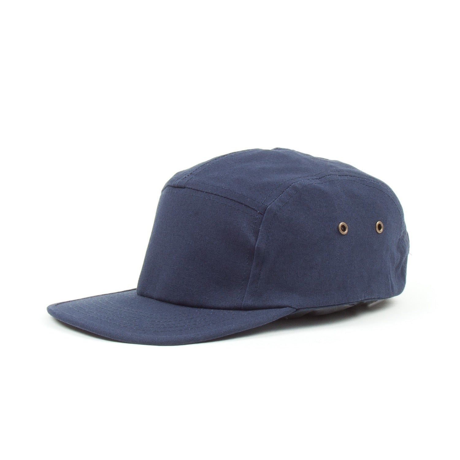 Sixes 5 Panel Stealth Cap (Navy)-1