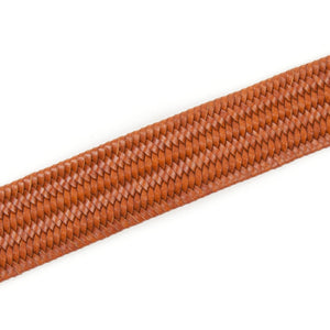 Sixes Leather Braided Belt (Tan)-2