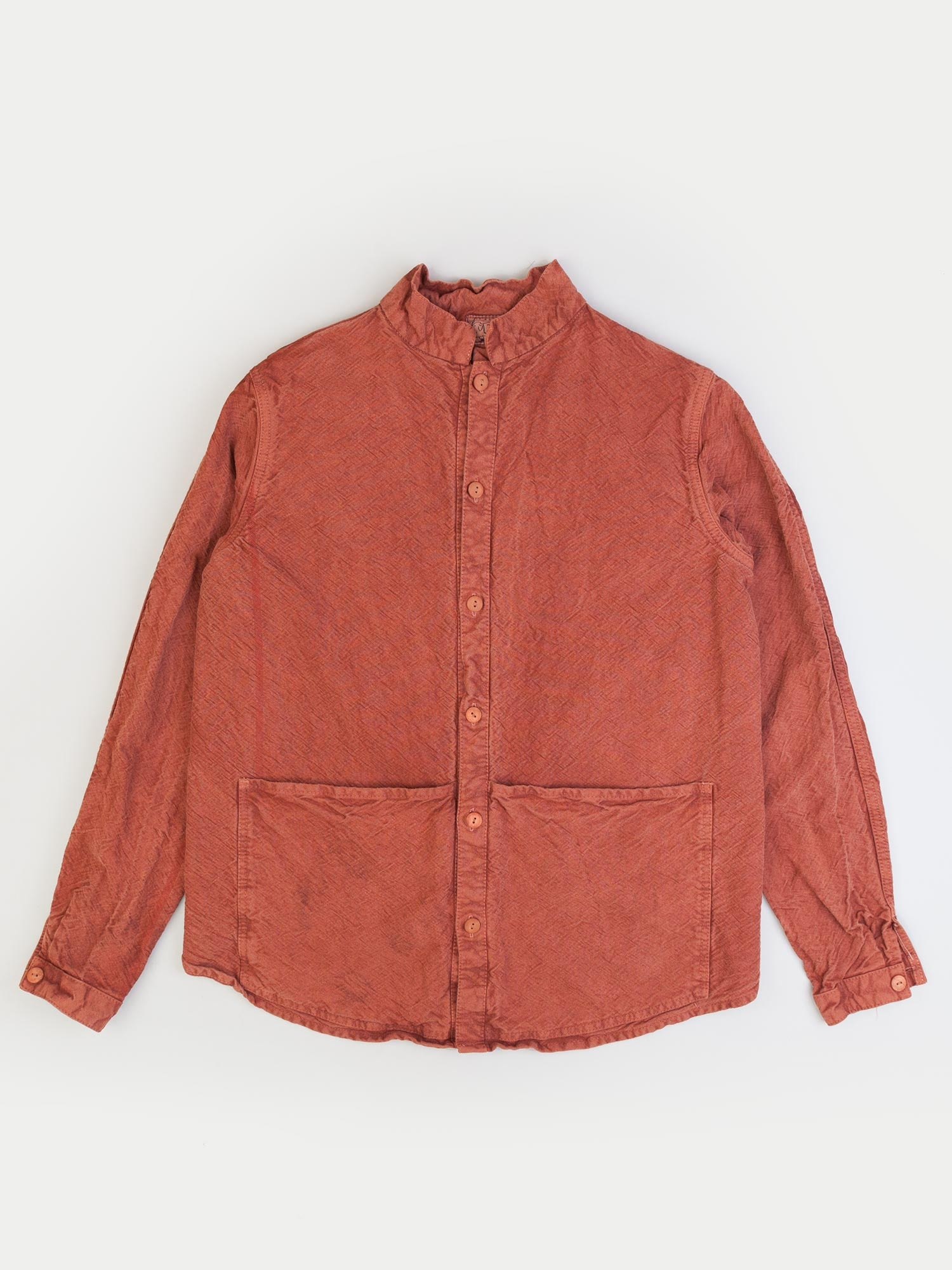 Tender Buggy Back Shirt (Red Ochre Dye)